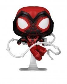 Funko POP Marvel - Spider-Man - Miles Morales (Crimson Cowl Suit)