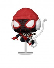 Funko POP Marvel - Spider-Man - Miles Morales (Winter Suit)