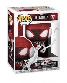 Funko POP Marvel - Spider-Man - Miles Morales (Winter Suit) caixa