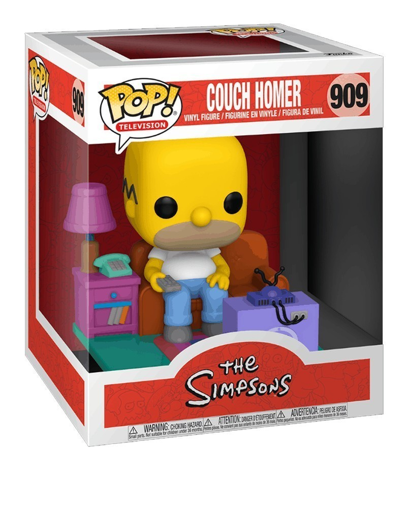 Funko POP TV - The Simpsons  - Couch Homer caixa