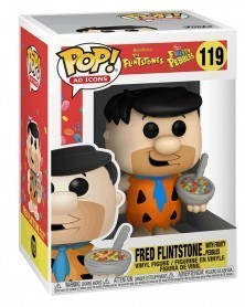 Funko POP Ad Icons - The Flintstones - Fred Flintstone (w/Fruity Pebbles)