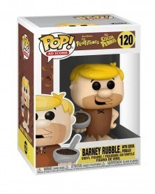 Funko POP Ad Icons - The Flintstones - Barney Rubble (w/Cocoa Pebbles) caixa