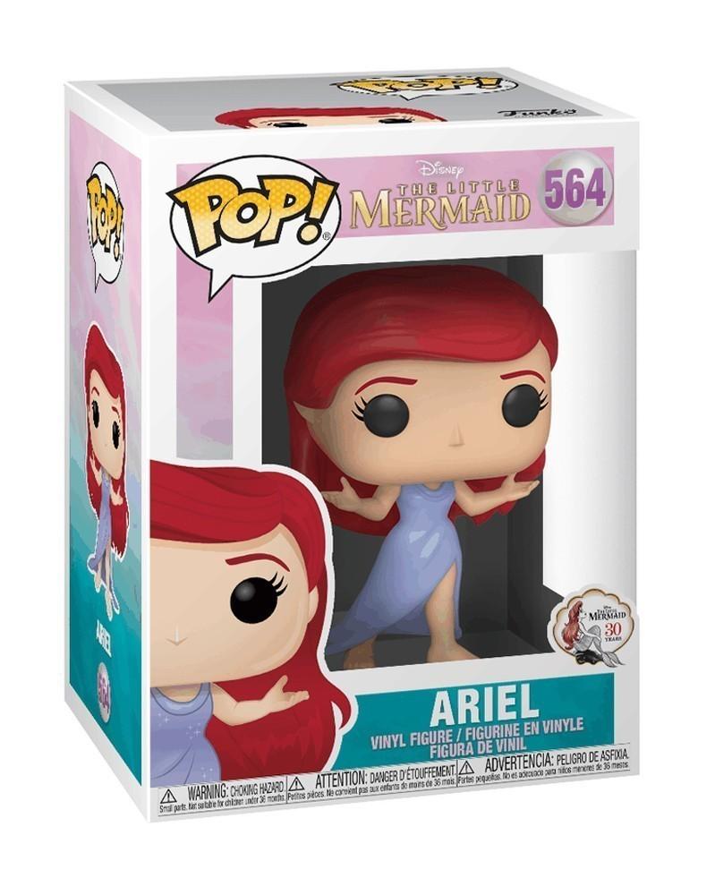 Funko POP Disney - The Little Mermaid - Ariel (with Purple Dress) caixa