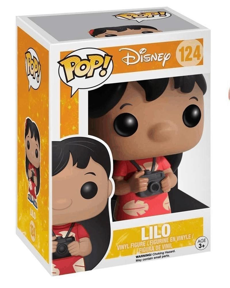 Funko POP Disney - Lilo caixa