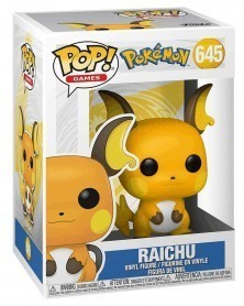 Funko POP Games - Pokémon - Raichu caixa
