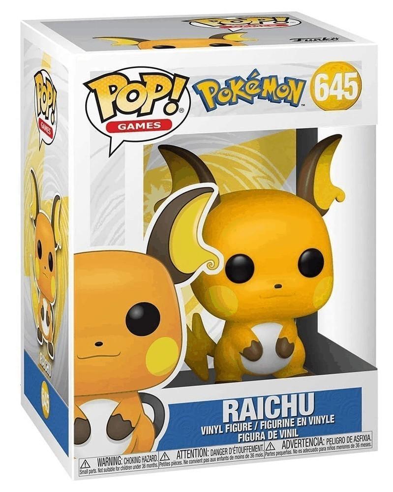 Funko POP Games - Pokémon - Raichu caixa