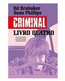 Criminal, Livro Quatro (Ed.Portuguesa, capa dura) capa