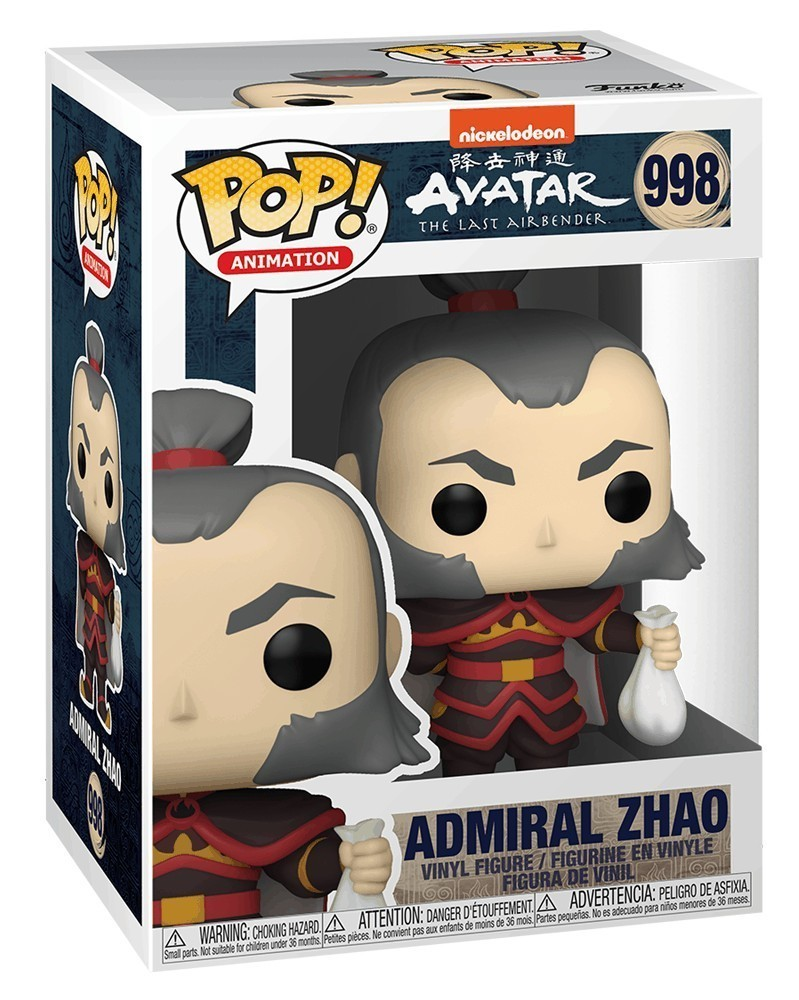 PREORDER! POP Animation - Avatar The Last Airbender - Admiral Zhao caixa