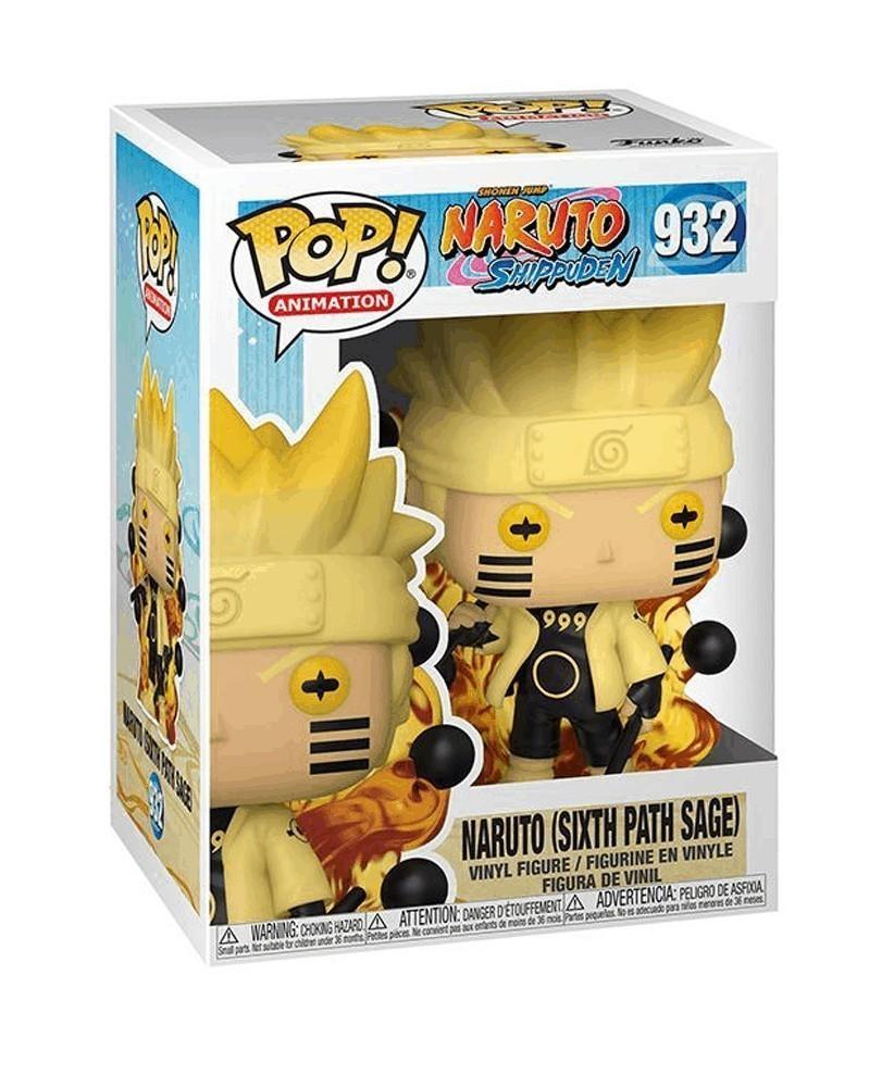 Funko POP Anime - Naruto - Naruto Six Path Sage caixa