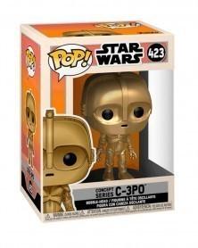 Funko POP Star Wars - Concept Series C-3PO caixa