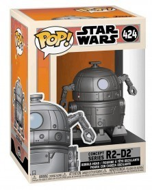 Funko POP Star Wars - Concept Series R2-D2 caixa