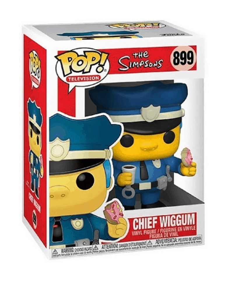 Funko POP TV - The Simpsons - Chief Wiggum caixa