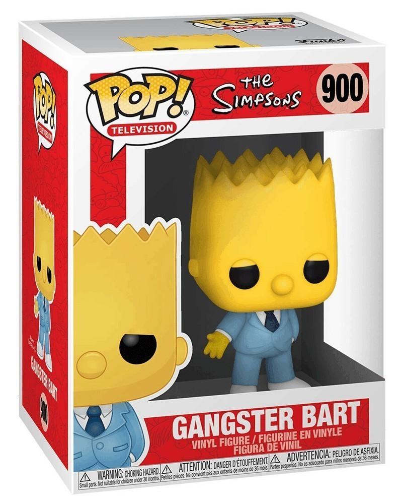 Funko POP TV - The Simpsons - Gangster Bart caixa