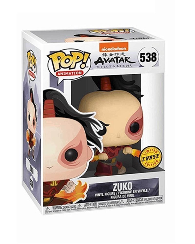 Funko POP Animation - Avatar The Last Airbender - Zuko (CHASE!) caixa
