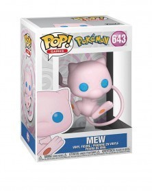 Funko POP Games - Pokémon - Mew caixa