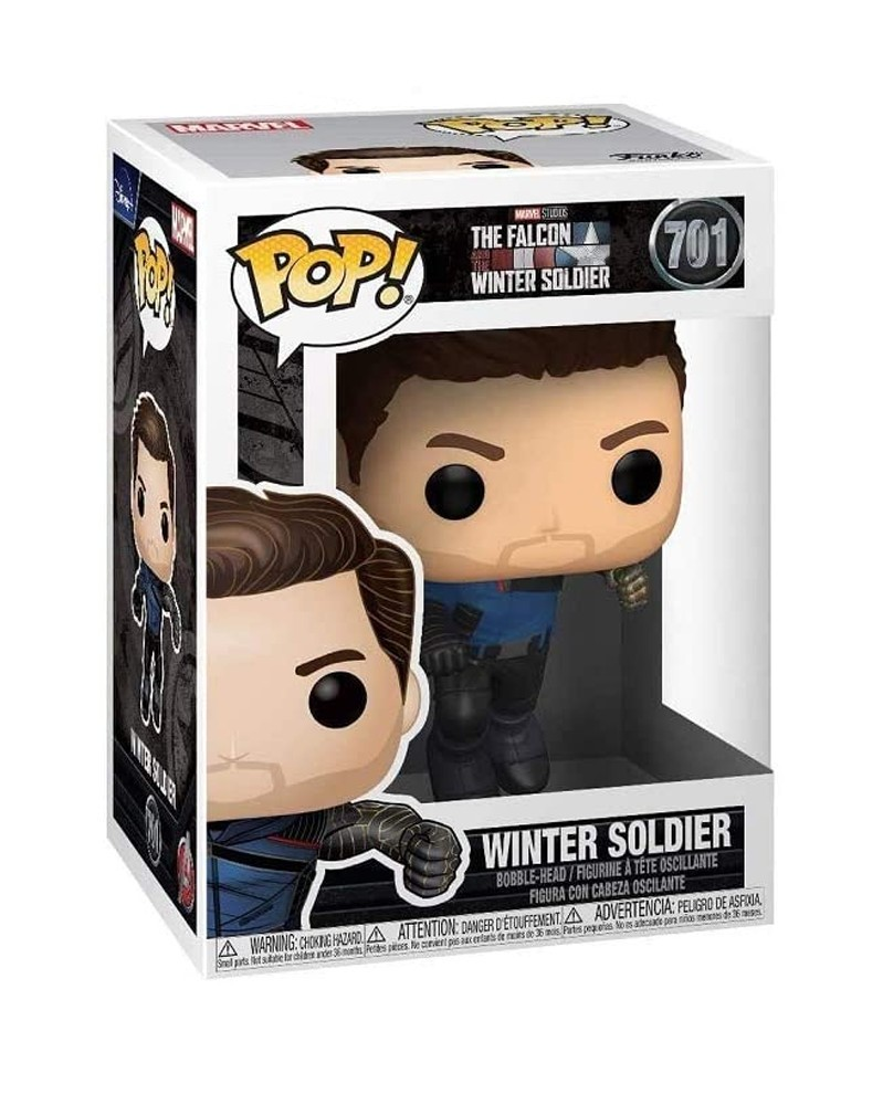 Funko POP Marvel - The Falcon & The Winter Soldier - Winter Soldier caixa