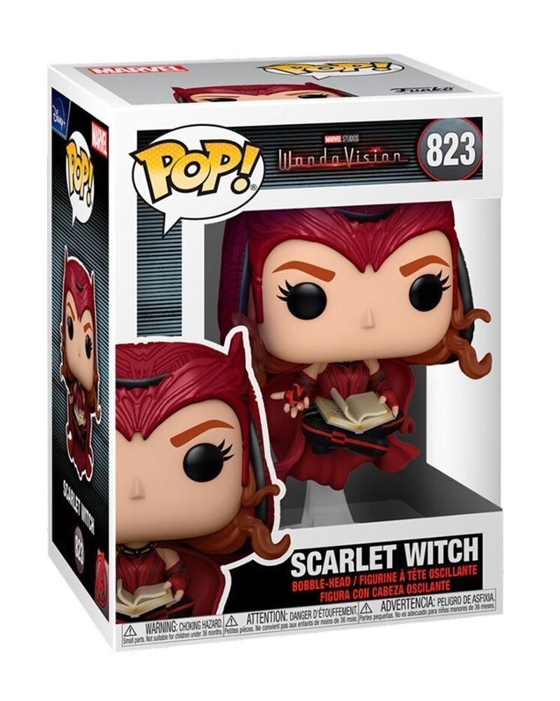 Funko POP Marvel Studios - WandaVision - Scarlet Witch caixa