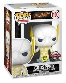 Funko POP Television - The Flash - Godspeed (GITD Exclusive) caixa