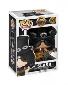 Funko POP Rocks - Guns N' Roses - Slash caixa