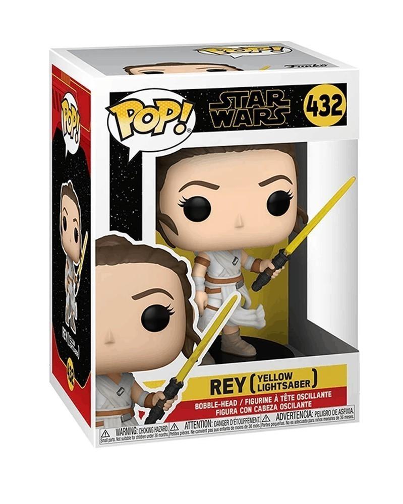Funko POP Star Wars - Episode 9 - Rey (Yellow Lightsaber)