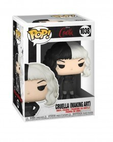 Funko POP Disney - Cruella - Cruella (Making Art) caixa