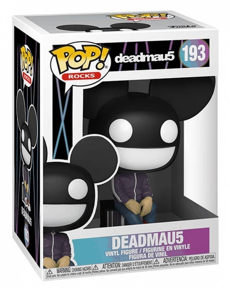 Funko POP Rocks - Deadmau5 caixa