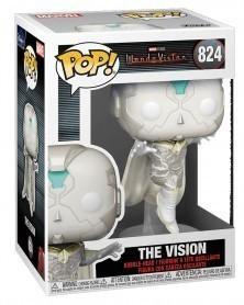 Funko POP Marvel Studios - WandaVision - The Vision caixa