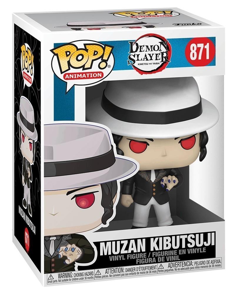 PREORDER! Funko POP Anime - Demon Slayer - Muzan Kibutsuji caixa
