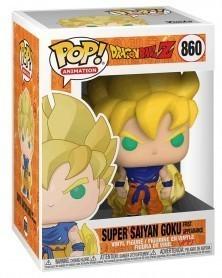 Funko POP Anime - Dragonball Z- Super Saiyan Goku (1st app) caixa