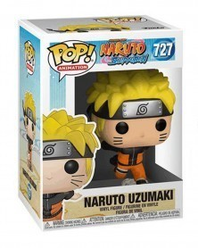 Funko POP Anime - Naruto - Naruto (Running) caixa