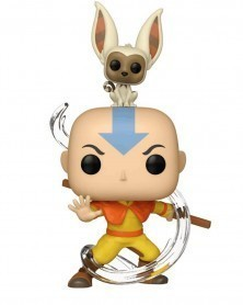 Funko POP Animation - Avatar The Last Airbender - Aang with Momo