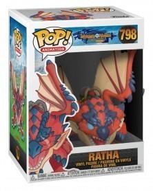 Funko POP Anime - Monster Hunter - Ratha caixa
