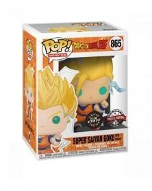 POP Anime - Dragonball Z - Super Saiyan w/Energy (GITD CHASE) caixa