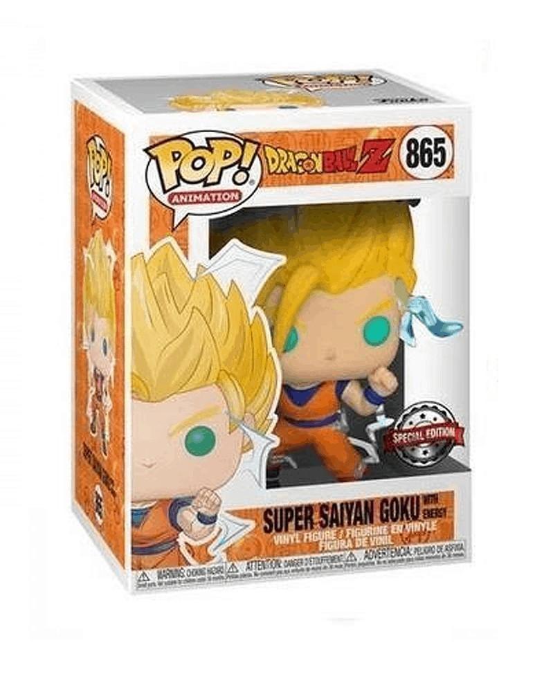 Funko POP Anime - Dragonball Z - Super Saiyan with Energy caixa