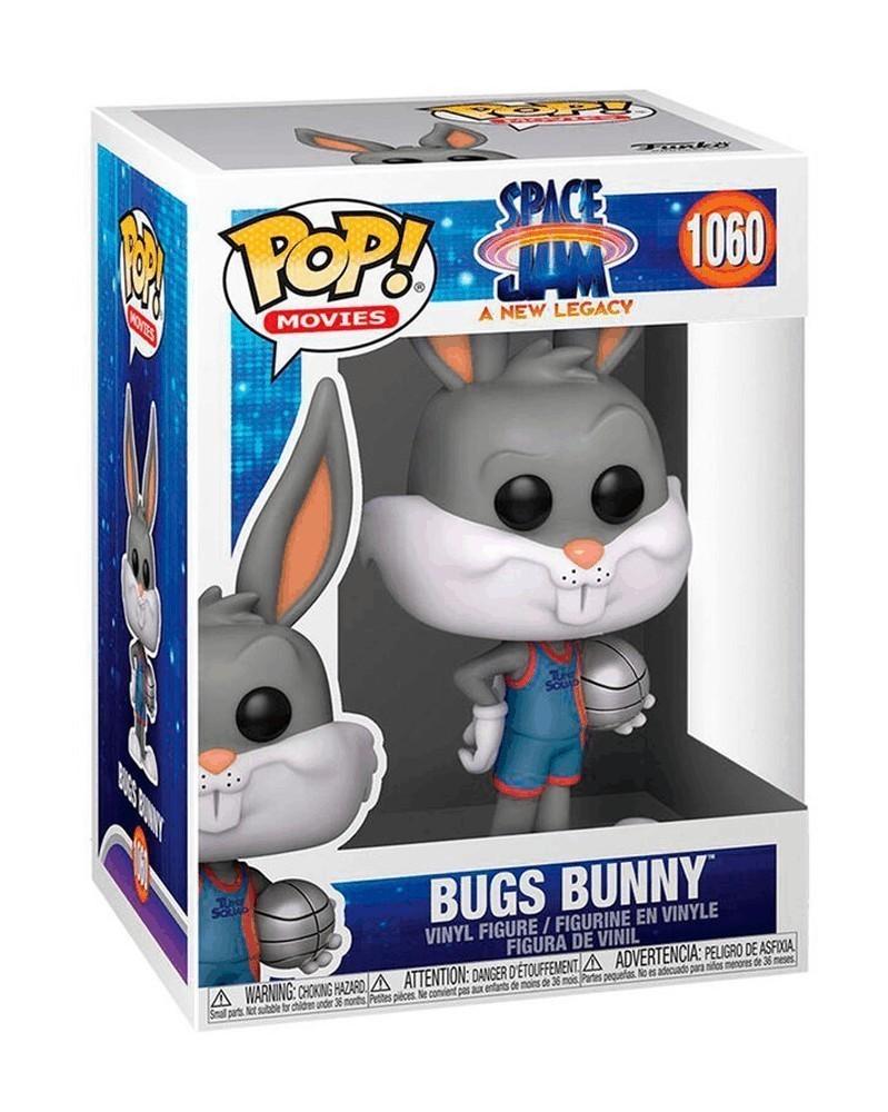 Funko POP Movies - Space Jam 2 - Bugs Bunny caixa