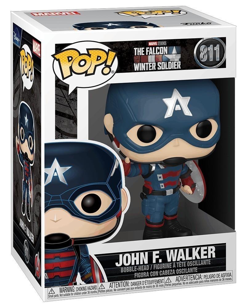 Funko POP Marvel - The Falcon & The Winter Soldier - John F. Walker