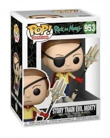 Funko POP Animation - Rick and Morty - Story Train Evil Morty caixa