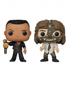 Funko POP WWE - The Rock and Mankind 2-Pack (Special Edition)