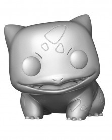 Funko POP Games - Pokémon - Bulbasaur (Silver Chrome)