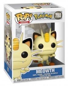 Funko POP Games - Pokémon - Meowth caixa