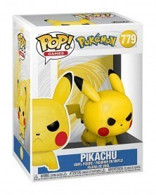 Funko POP Games - Pokémon - Pikachu (Attack Stance) caixa