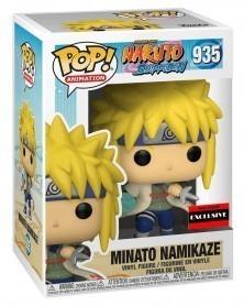 Funko POP Anime - Naruto - Minato Namikaze (Rasengan, AAA Exclusive) caixa