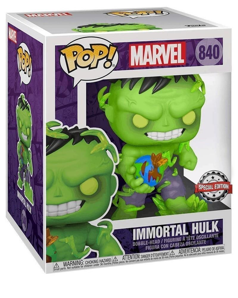 "Funko POP Marvel - Immortal Hulk 6"" (Previews Exclusive) caixa"