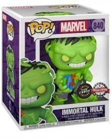 "Funko POP Marvel - Immortal Hulk 6"" CHASE (Previews Exclusive) caixa"
