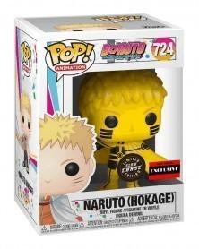Funko POP Anime - Boruto - Naruto (Hokage) GITD CHASE! AAA Exclusive caixa
