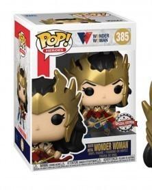Funko POP Heroes - Death Metal Wonder Woman caixa