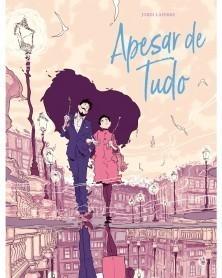 Apesar de Tudo, de Jordi Lafebre (Edição Portuguesa) capa