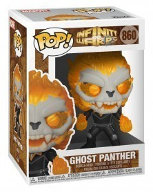 Funko POP Marvel - Infinity Warps - Ghost Panther