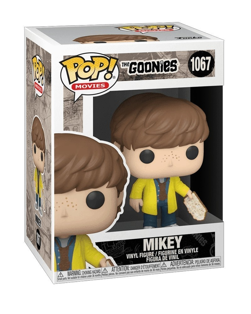 Funko POP Movies - The Goonies - Mikey with Map caixa