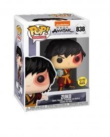 Funko POP Animation - Avatar The Last Airbender - Zuko w/Lightning GITD caixa